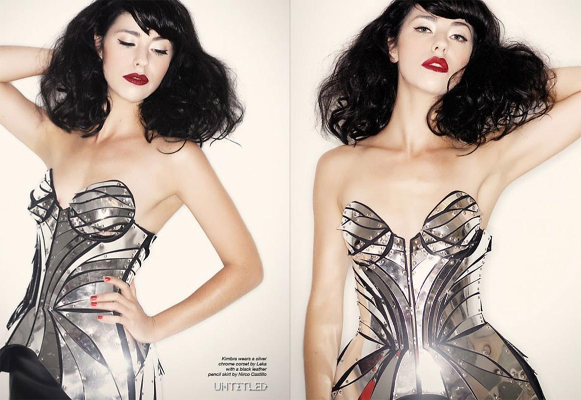 Georgina Billington Body Paint Makeup